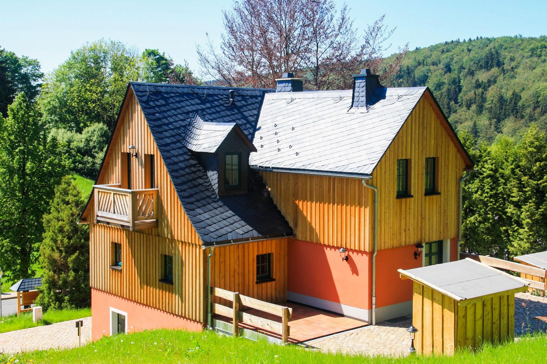 Armenhaus Holzhau Rückansicht