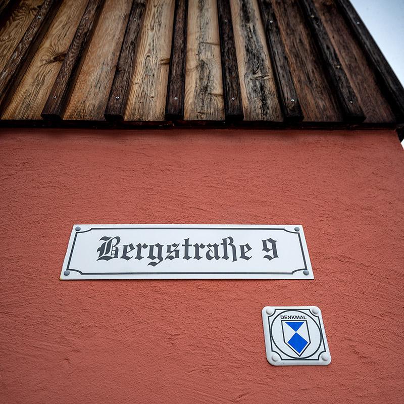 Fassade Armenhaus Holzhau