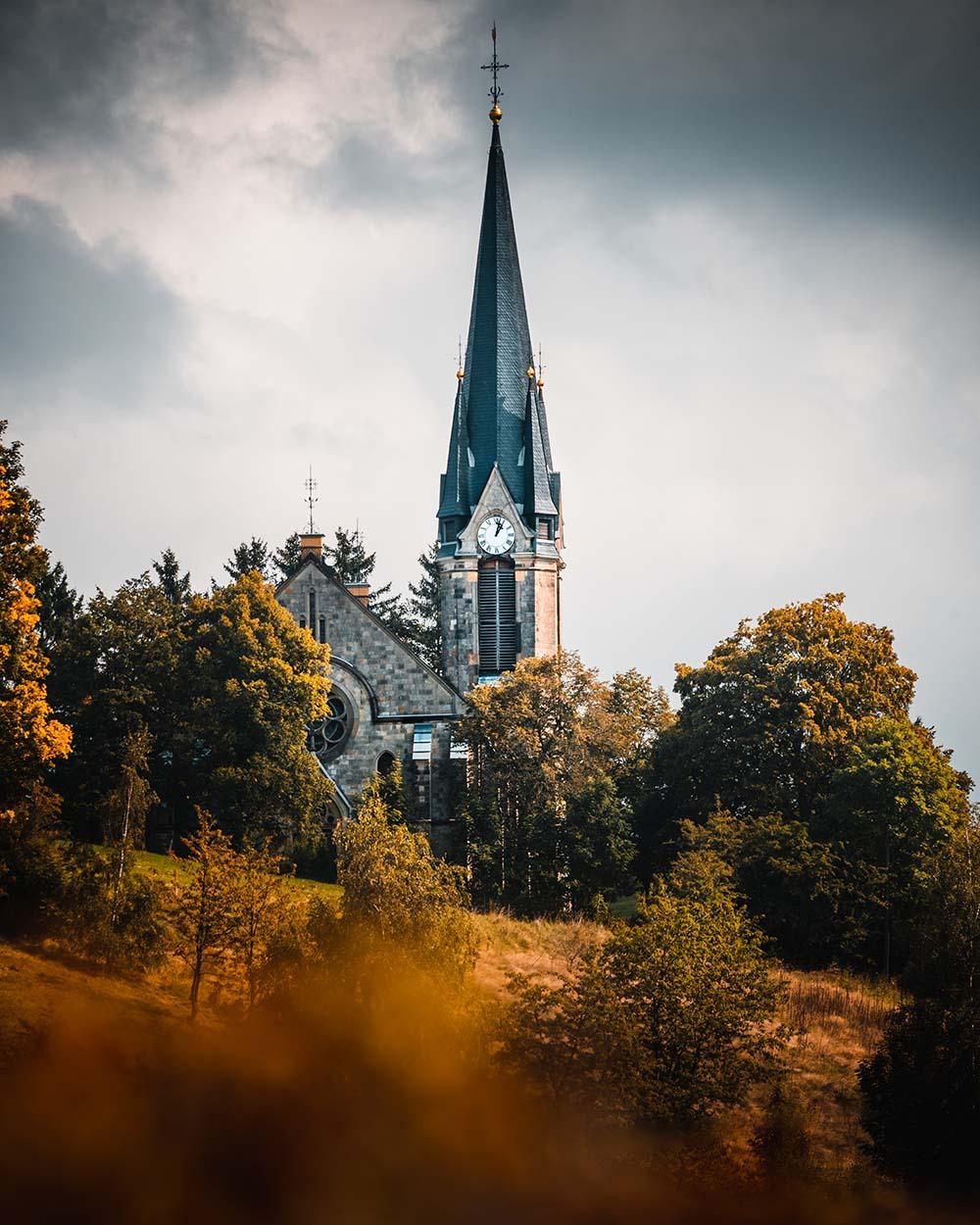 Kirche in Holzhau
